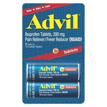 ADVIL 20CT T AB VIAL 2PK CHECKLANE