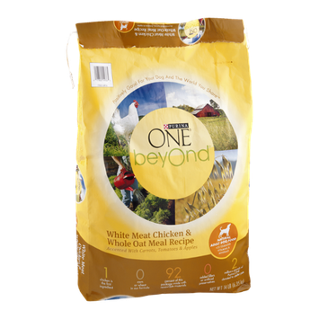 One Beyond Natural Adult Dog Food White Meat Chicken & Whole Oat Meal