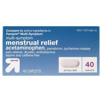 up & up Menstrual Relief Multi-Symptom Caplets - 40 Count