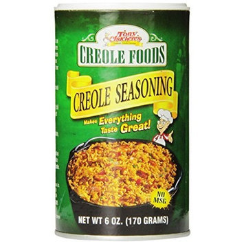 Tony Chachere Original Creole Seasoning, 6-Ounce Containers (Pack of 2)