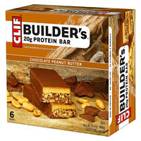 Clif Builder's Bar Chocolate Peanut Butter Protein Bar - 6 Count