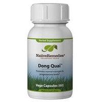 Native Remedies DON001 Dong Quai 500mg Caps for Hormone Balancing - 60 VegeCaps
