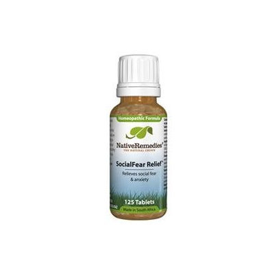 SocialFear Relief by Native Remedies - 180 Tablets