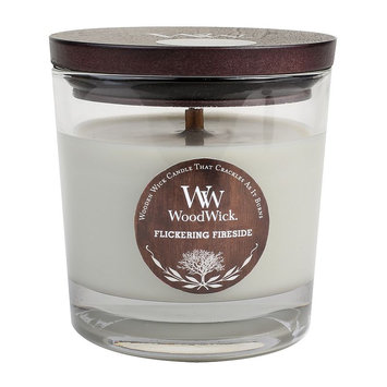 WoodWick Flickering Fireside 10 1/2-oz. Jar Candle (Grey)