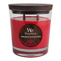 WoodWick Cinnamon Buttercream 17.2-oz. Jar Candle (Red)