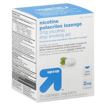 up & up Nicotine Polacrilex 2 mg Mint Gum- 72 Count
