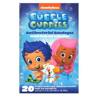 Bubble Guppies Antibacterial Bandages - 20 Count