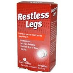 Frontier Restless Legs, 60 Chewable Tablets, NatraBio