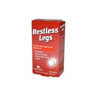 Frontier Restless Legs, 60 Chewable Tablets, NatraBio
