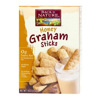 Back to Nature Honey Graham Sticks, 8 oz