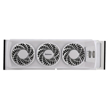 Holmes Slim Window Fan - White