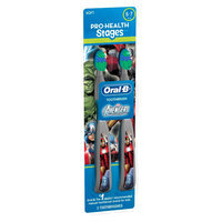 Oral-B Pro-Health Stages Kids Manual Toothbrush featuring Marvel Avengers with Disney MagicTimer App by