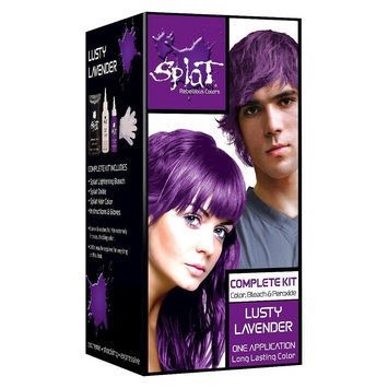 Splat Bleach And Complete Color Kit Splat Lavender Hair Color Hair Color Kit