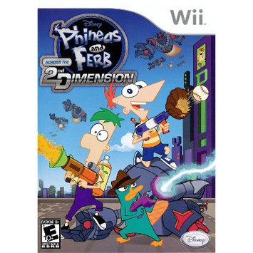 Disney Phineas And Ferb: Across The 2nd Dimension PRE-OWNED (Nintendo Wii)