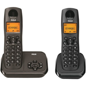 Rca 2162-2bkga Element Series Dect 6.0 Cordless Phone With Caller Id & Digital Answering System [2-handset System]