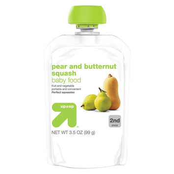 up & up Baby Food - 2nd Stage - Pear Butternut Squash - 3.5 oz