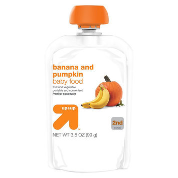 up & up Baby Food - 2nd Stage - Banana and Pumpkin - 3.5 oz