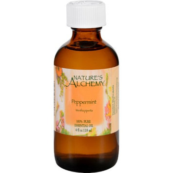 Nature's Alchemy - 100 Pure Essential Oil Peppermint - 4 oz.