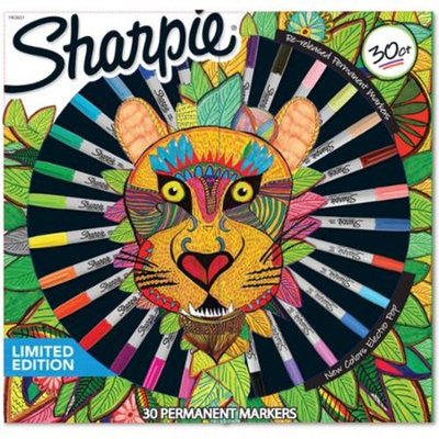 Sharpie Permanent Markers Limited Edition, Assorted, 30-Count