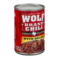 Wolf Brand Chili with Beans