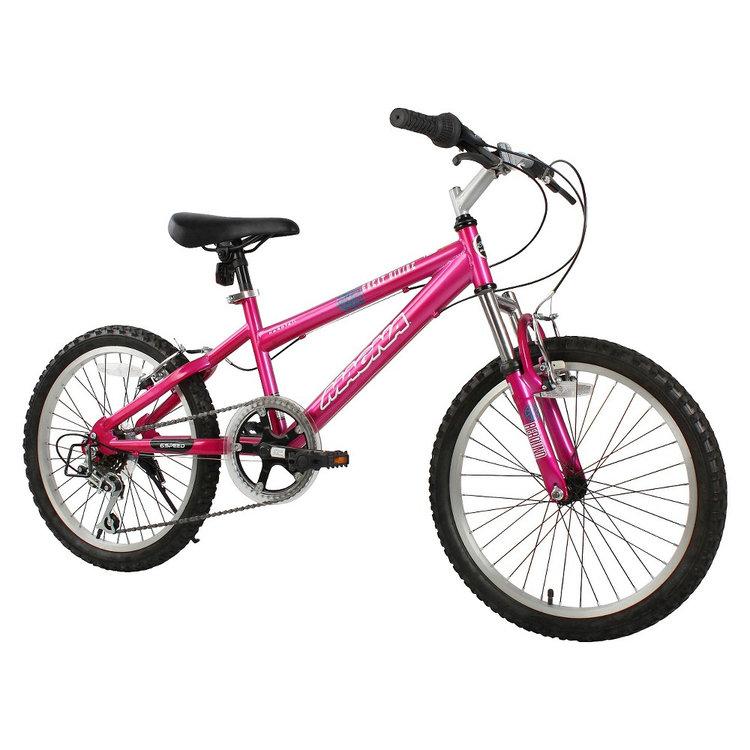 "20"" Magna Girls Great Divide Mountain Bike - Magenta"
