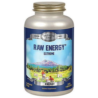 Premier One Raw Energy Extreme - 200 Capsules - Bee Products