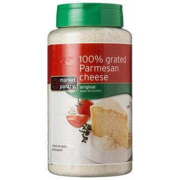Market Pantry 100% Grated Parmesan Cheese 16 oz