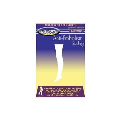 Bell-Horn Anti-Embolism Stockings 18mmHg Knee-high Close Toe in Beige