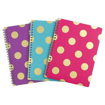 Clementine Paper Greenroom Metallic Pattern Notebook