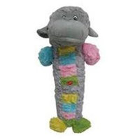 Patchwork Pet Plush Monkey Stick Pastel 35 Inch