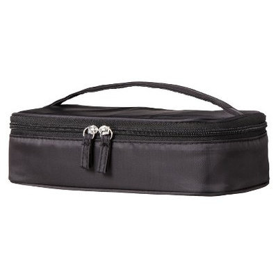 Contents Train Case Bag - Black