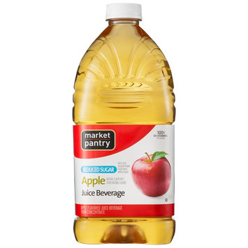 Clement Pappas Market Pantry Apple Reduced Sugar Juice Beverage 64 oz