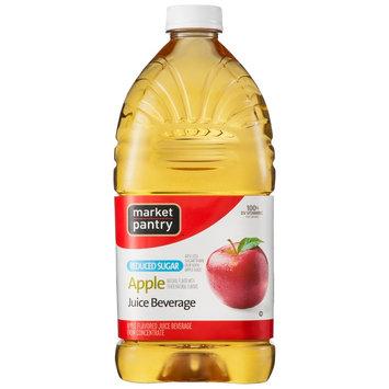 Clement Pappas Market Pantry Apple Reduced Sugar Juice Beverage 64 oz
