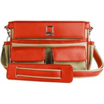 Lencca Coreen SLR Camera Bag, Color Raw Beige - Orange