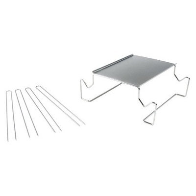 Charcoal Companion - Stainless S'mores Roasting Rack with Skewers