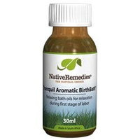 Native Remedies TAB001 Tranquil Aromatic BirthBath for First Stage of Labor - 30ml