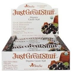 Betty Lou's - Just Great Stuff Bar Organic Cacao Acai - 1.5 oz.