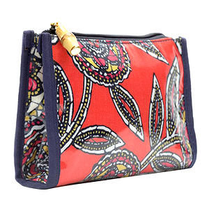 Stephanie Johnson Jakarta Small Zip Cosmetic Bag