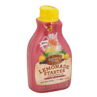 COUNTRY TIME Lemonade Starter Berry Lemonade Beverage-Liquid Concentrate Bottle