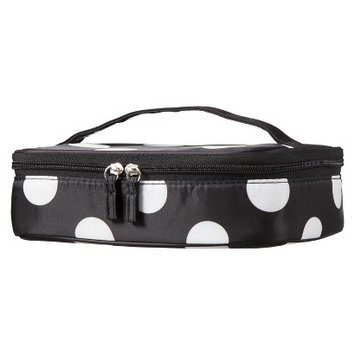 Contents Train Case Bag - Polka Dots