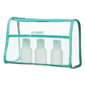 Allegro Contents Cosmetic Clutch Bag - Clear