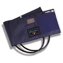 Mabis 05-260-011 Sphygmomanometer Cuff and Two-Tube Bladder - Blue Nylon Adult