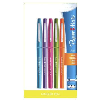 Paper-mate PaperMate Flair 5ct Asst. Felt Tip Marker Pen