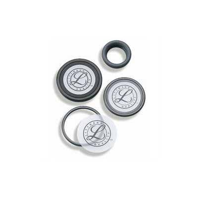 Mabis 13-558-030 Littmann Small Cardiology III Tunable Diaphragm and Rim Assembly - Gray