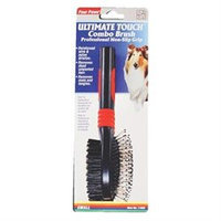 Four Paws Products Ultimate Touch Combo Brush Large - 11662