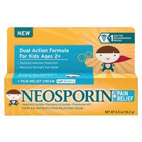 Neosporin Antibiotic and Pain Relieving Cream for Children - 0.5 oz
