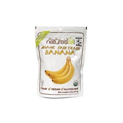 Nature's All Foods Organic and Fair Trade Freeze Dried Banana
