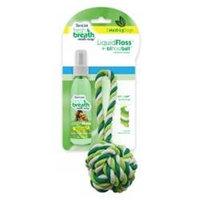 Tropiclean - Fresh Breath Liquidfloss plus Triflossball Medium-large - 001275