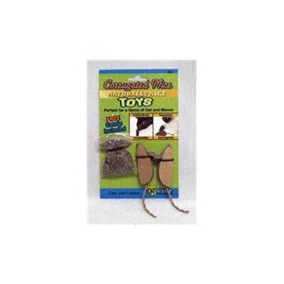 Ware Mfg. Inc. Ware Mfg Corrugated Mice With Catnip