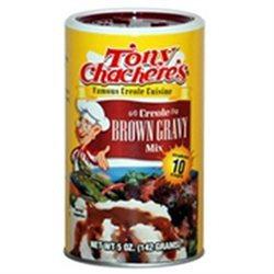 Tony Chachere's Tony Chacheres 03025 Tony Chacheres Brown Gravy Mix 12x5 OZ